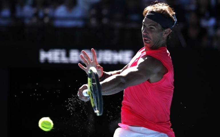 Nadal clicks into top gear, brushes aside Carreno Busta