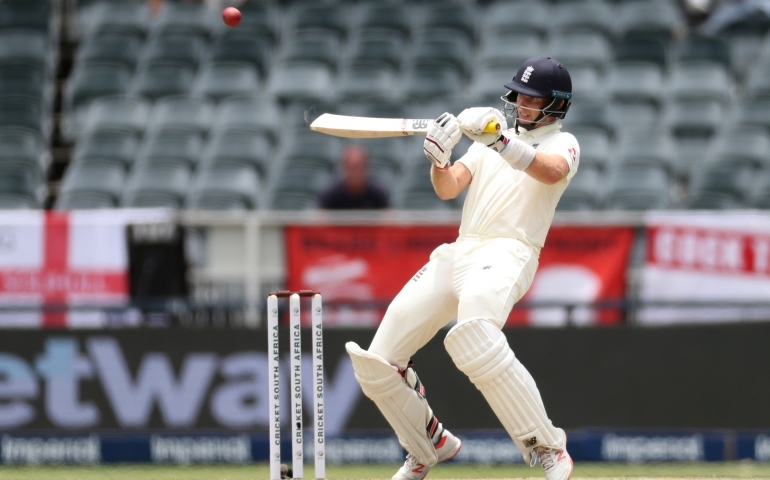 Root and Pope steer England past 300 in first innings
