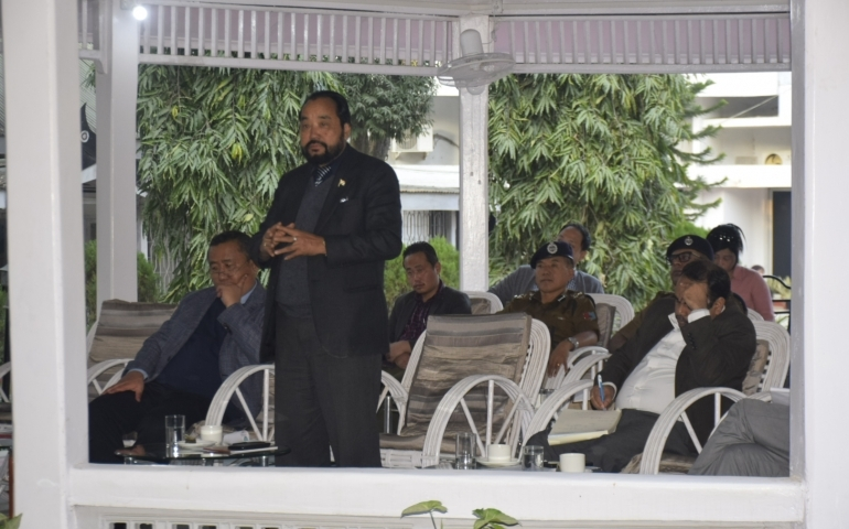 'Equal respect and dignity' for non Naga citizens