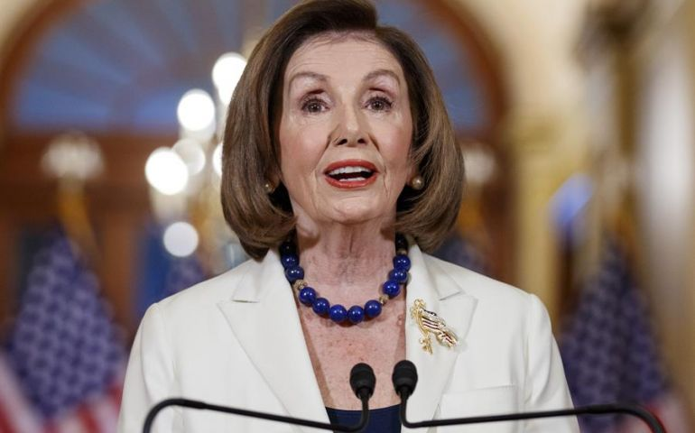 Pelosi asks House committee to draft articles of impeachment against Trump