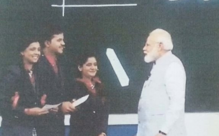 Lesson for 'Pariksha pe Charcha' girl: never bow to anyone