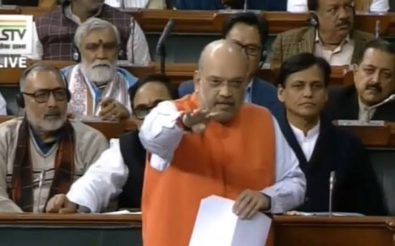 Citizenship Bill tabled in LS amid Opposition flak