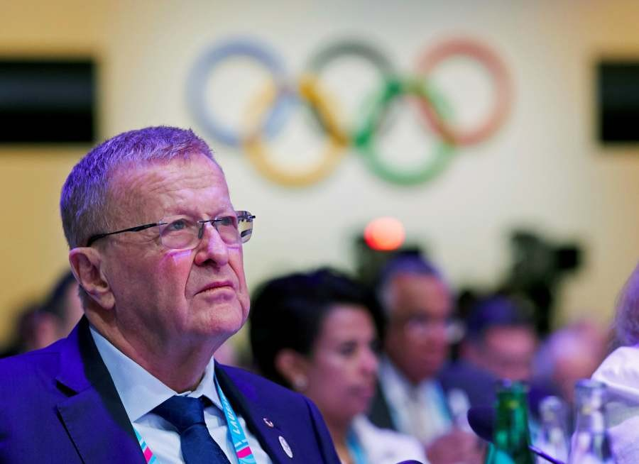 International Olympic Committee member John Coates attends the International Olympic Committee (IOC) 135th Session in Lausanne, Switzerland, January 10, 2020. REUTERS/File Photo