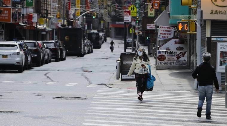 In the New York metro area alone, 21,800 people had died by May 3. (AP Photo/Frank Franklin II)