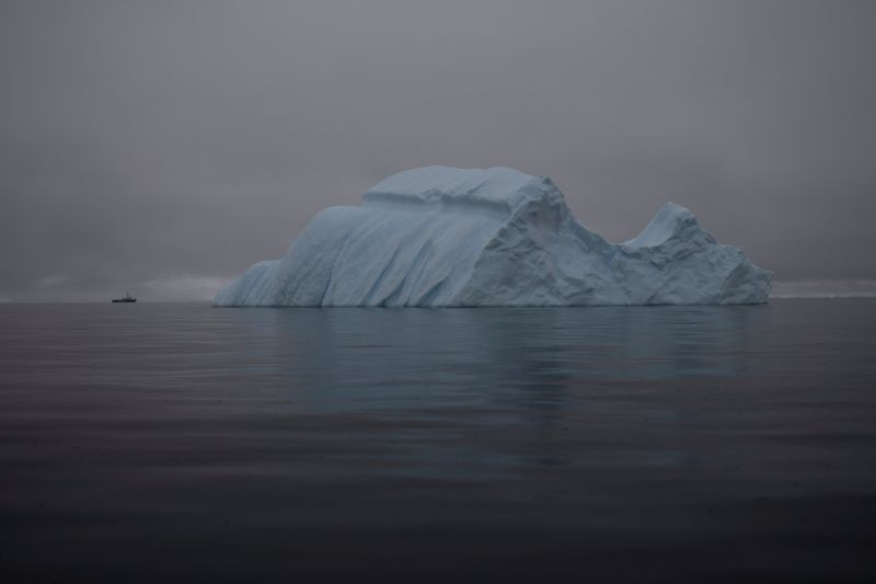 An iceberg floats near Two Hummock Island, Antarctica on February 2, 2020. (REUTERS File Photo)