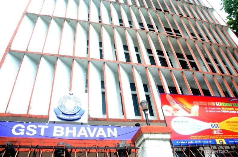 GST Bhavan. (IANS File Photo)