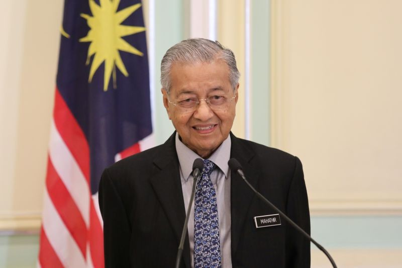 Malaysia's former Prime Minister Mahathir Mohamad. (REUTERS File Photo)