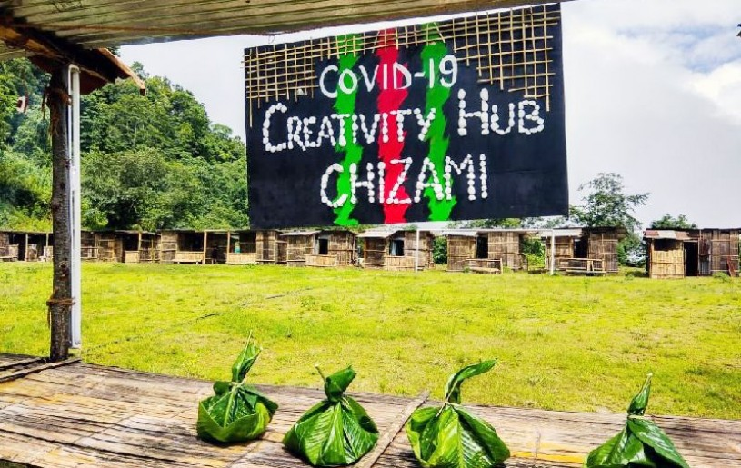 The COVID-19 Task Force Chizami has named quarantine centre in Chizami as COVID-19 Creativity Hub.