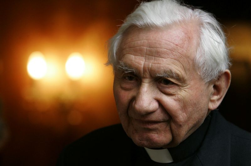 Georg Ratzinger, brother of former Pope Benedict XVI. (REUTERS File Photo)