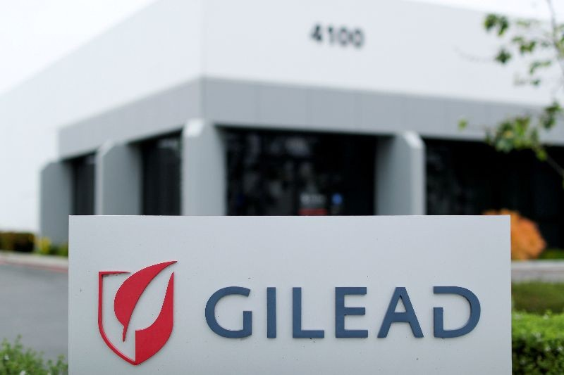Gilead Sciences Inc pharmaceutical company is seen after they announced a Phase 3 Trial of the investigational antiviral drug Remdesivir in patients with severe coronavirus disease (COVID-19), during the outbreak of the coronavirus disease (COVID-19), in Oceanside, California, U.S., April 29, 2020. REUTERS/Mike Blake