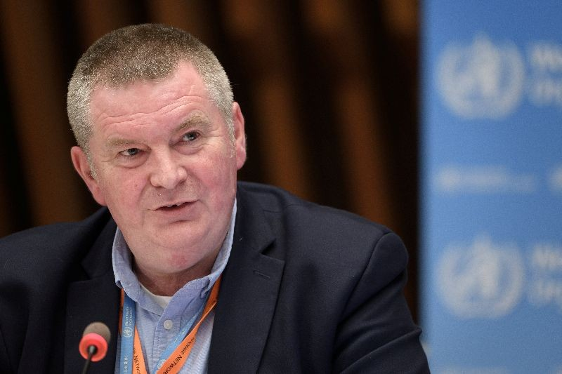 WHO Health Emergencies Programme head Michael Ryan attends a news conference organized by Geneva Association of United Nations Correspondents (ACANU) amid the COVID-19 outbreak, caused by the novel coronavirus, at the WHO headquarters in Geneva, Switzerland July 3, 2020. Fabrice Coffrini/Pool via REUTERS/Files