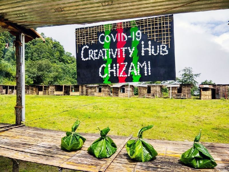 The COVID-19 Task Force Chizami has named quarantine centre in Chizami as COVID-19 Creativity Hub.