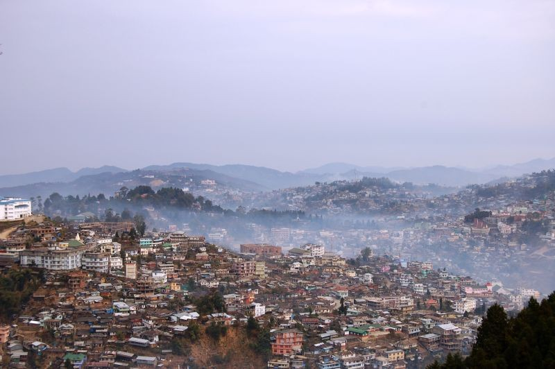 A partial view of Kohima town. (Morung File Photo)