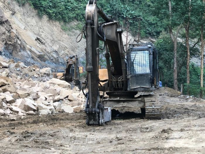 A circular issued by the DC Dimapur informed the restriction is being imposed to facilitate the progress of the four lane construction work. (Morung File Photo)