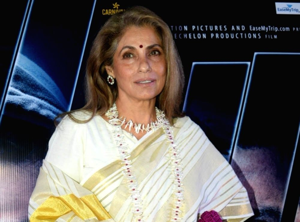 Dimple Kapadia. (File Photo: IANS)