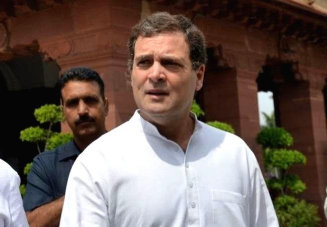 Congress leader Rahul Gandhi.. Image Source: IANS