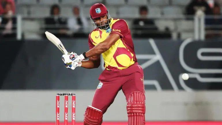Kieron Pollard hit 6 sixes in over against Sri Lanka's Akila Dananjaya in Antigua T20I on Thursday (AFP Photo)