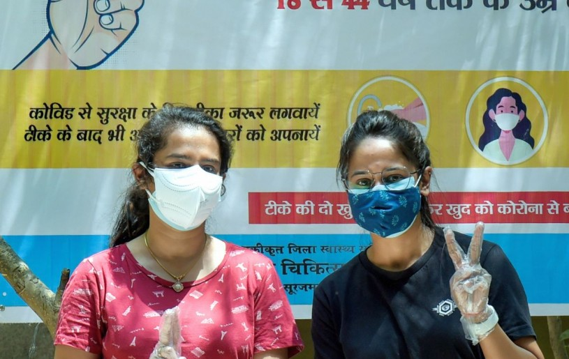 New Delhi, May 10 (PTI): Getting people vaccinated is the only long-term solution to the current COVID-19 crisis in India, America's top public health expert Dr Anthony Fauci said on Sunday as he called for scaling up manufacturing of coronavirus vaccines both domestically and globally to fight the deadly pandemic.