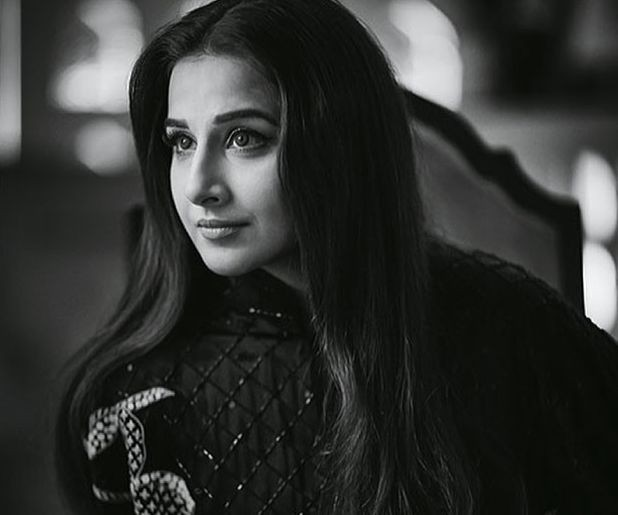 Vidya Balan: Don't believe in black and white world except for picture.(IANS: Instagram)