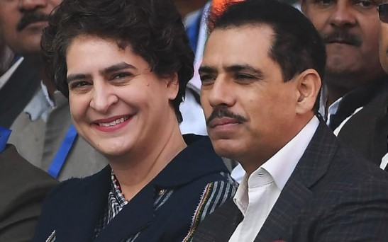 Vadra connects security breach at Priyanka's residence with women's safety