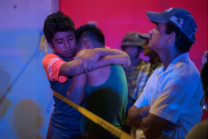 23 killed in Mexico bar fire, officials investigating 'attack'