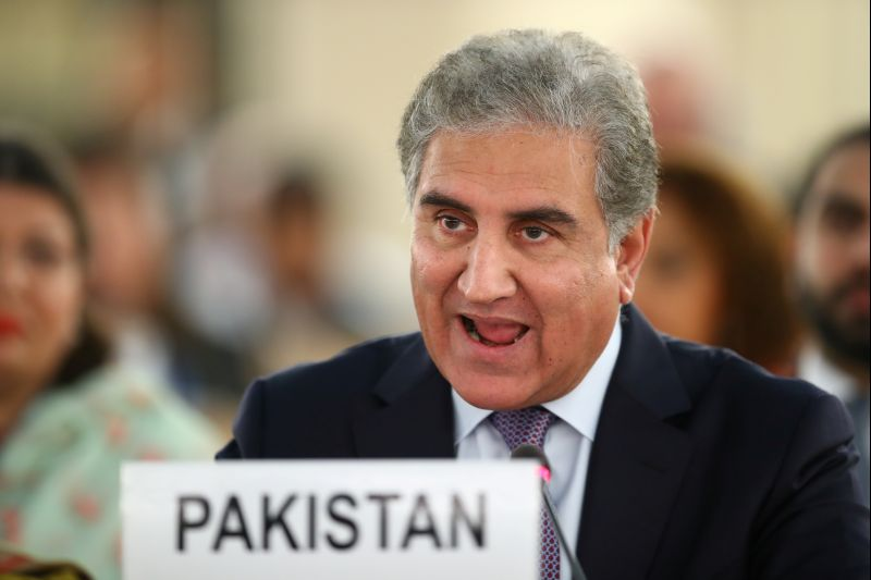 'Indian state' Jammu and Kashmir, says Pak minister at UN