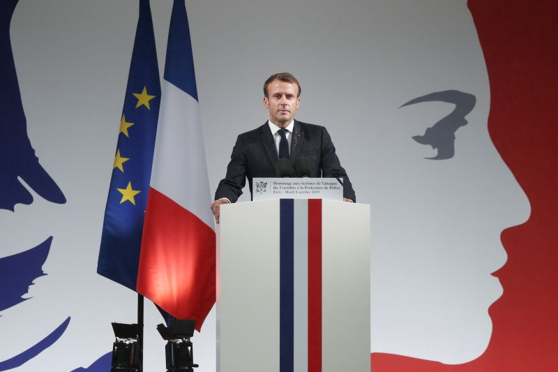 Macron cries foul as EU lawmakers snub French pick for industry job