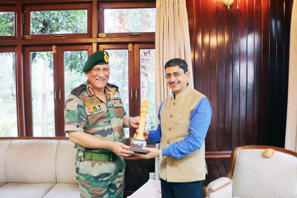 Army Chief visits Eastern Theatre; discusses security situation in Nagaland