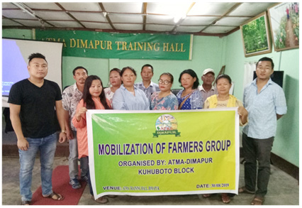 ATMA Kuhuboto Block conducts mobilization of farmers group