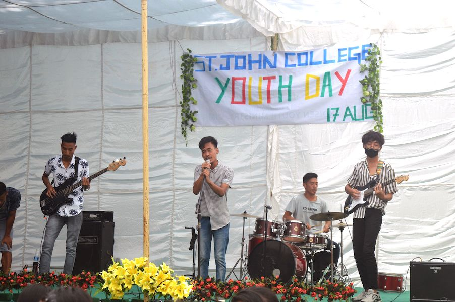 St John College Dimapur celebrates Youth Day
