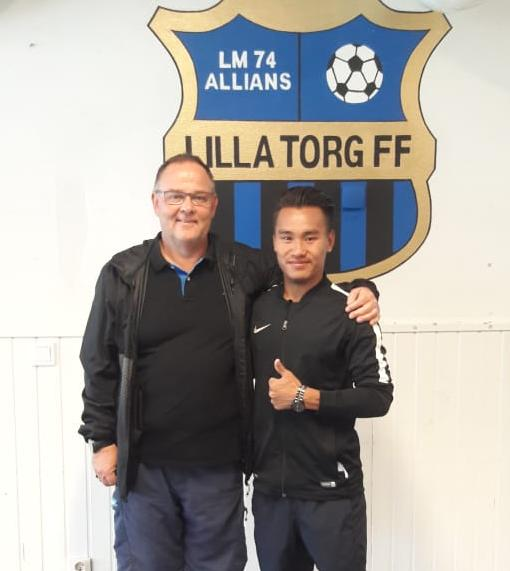 Ratobe from Nagaland to play  in Swedish club Lilla Torg FF