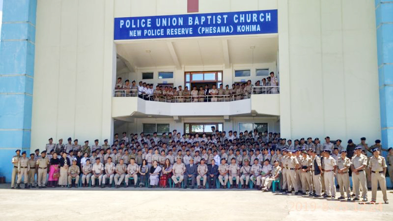 Police Appreciation Sunday observed