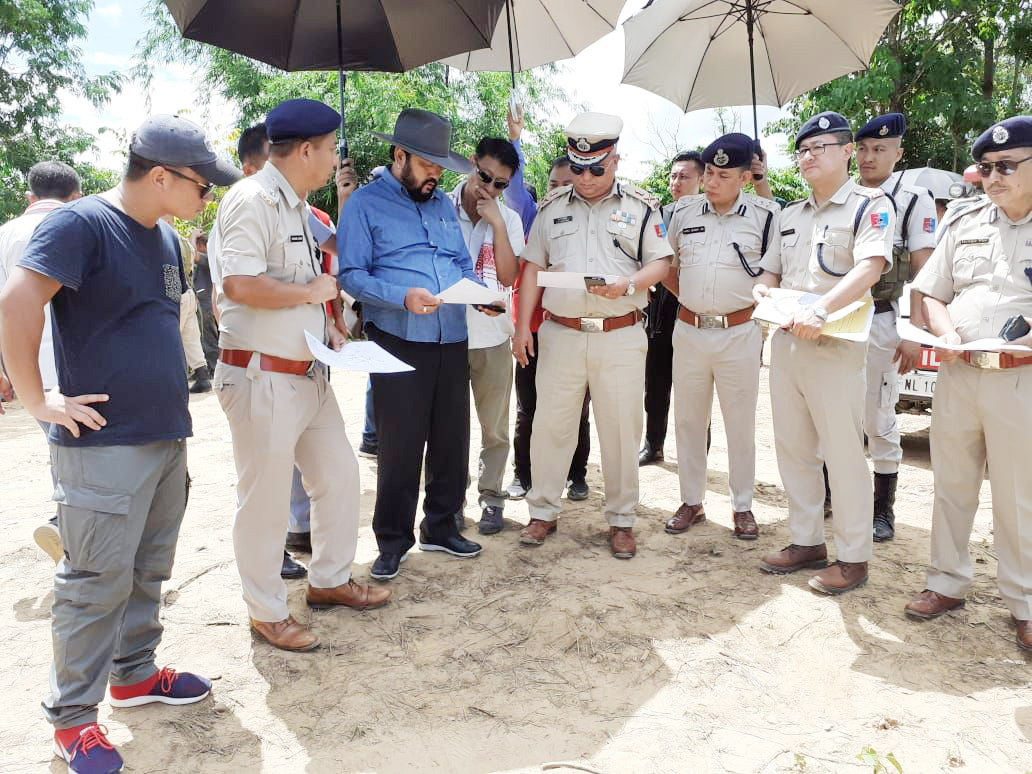 Deputy CM visits site of Sept 6 firing,  asks all parties to maintain status quo