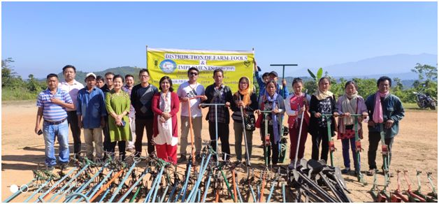 Peren farmers avail tools under Tribal Sub Plan