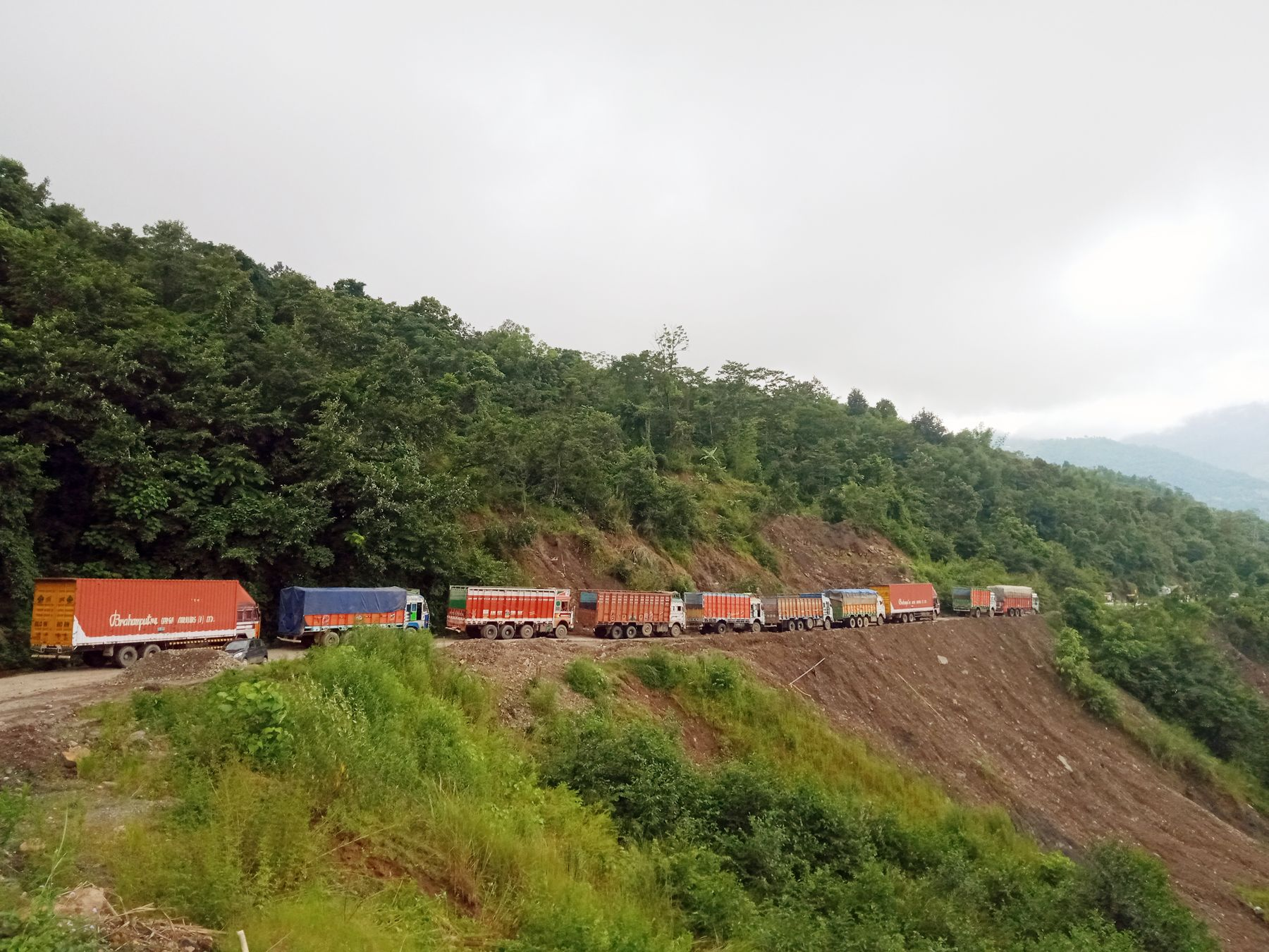 NH 29 landslide taking toll on Khm