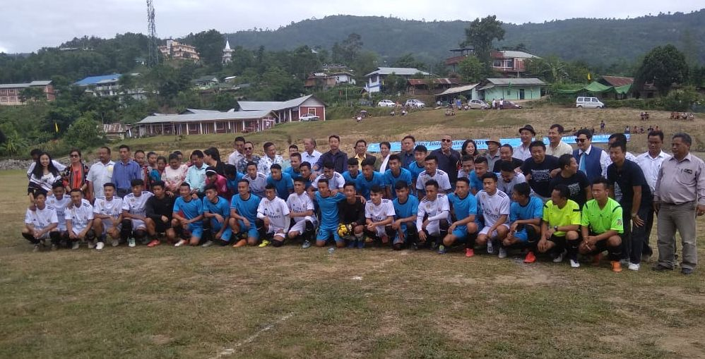 Independence Cup Football Tournament underway in Senapati