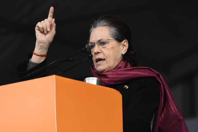 Sonia slams BJP, says CAA will destroy soul of India