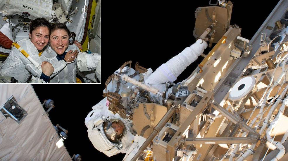 1st all-woman spacewalk sparks unprecedented interest ...
