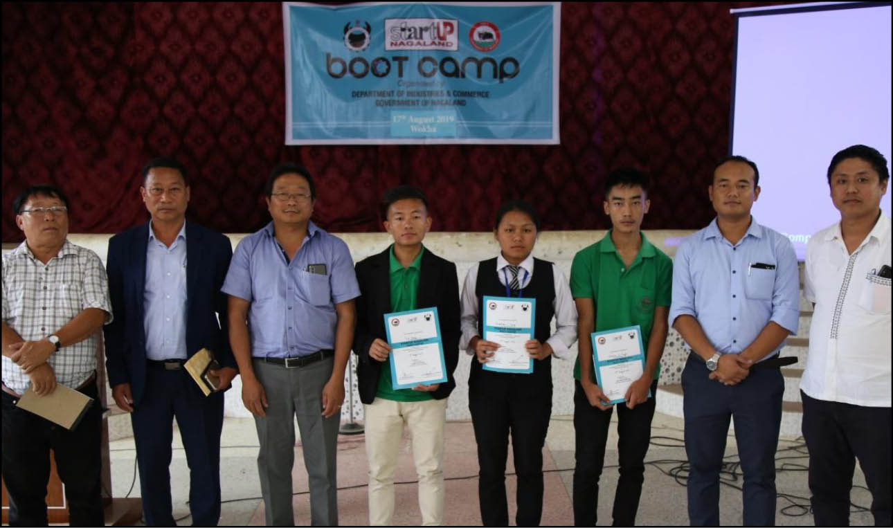 Startup Nagaland Boot Camp held in Wokha
