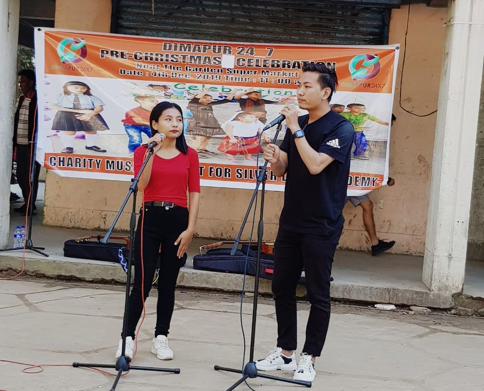 Team Dimapur24_7 organised charity music concert