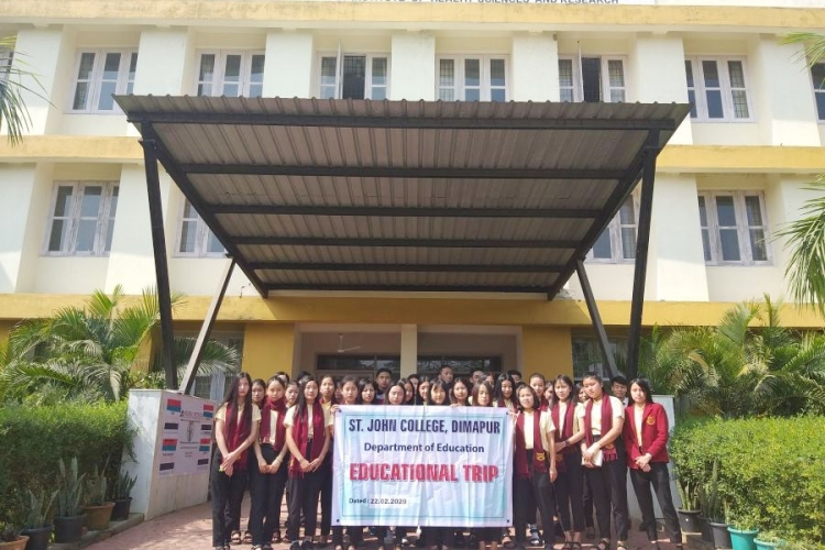 Edu students of St John College visits CIHSR