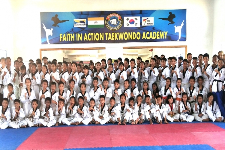Faith in Action Taekwondo Grading held