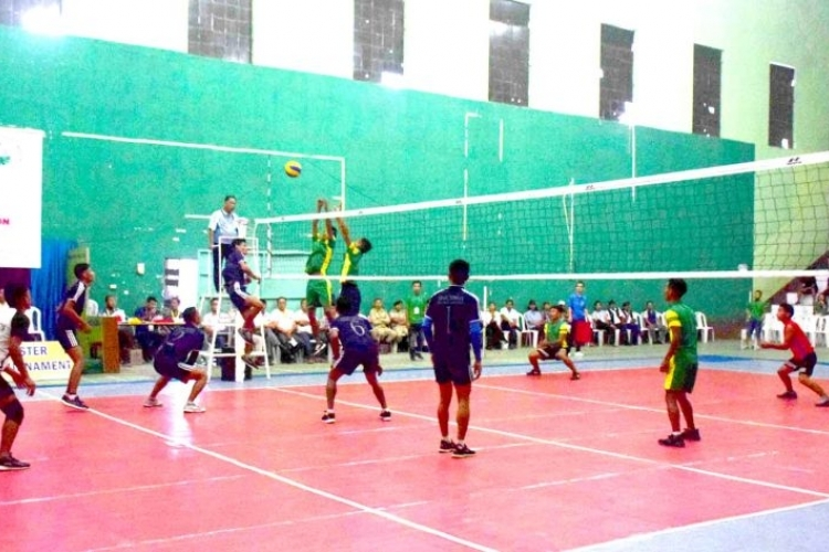 14th Imchaba Master Memorial Nagaland Open Volleyball Trophy underway