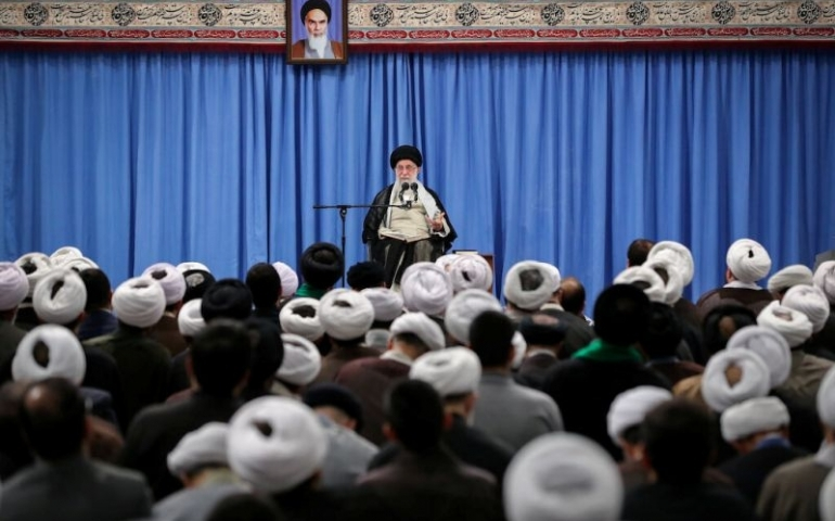 Iran's Khamenei says building, using nuclear bomb is forbidden under its religion - TV