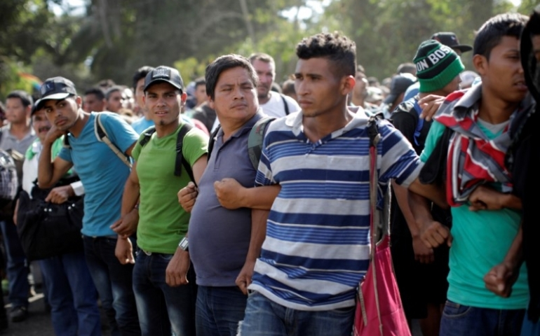 Mexico is the wall: president faces pressure over migration clampdown