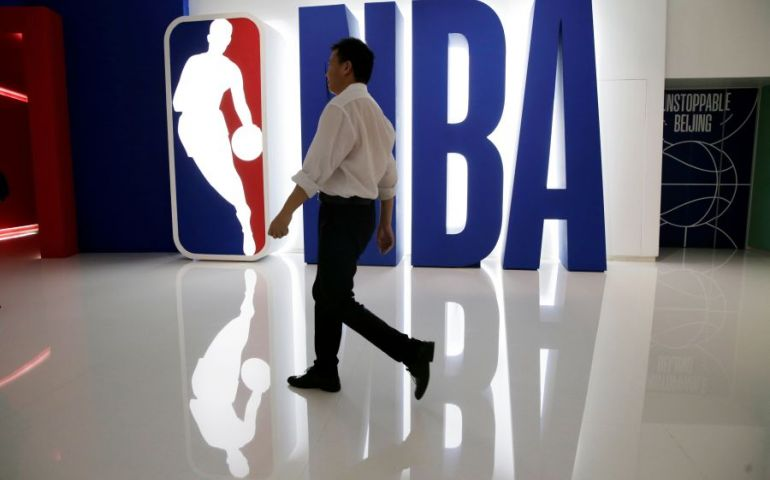 China's ANTA sports says it will immediately halt contract renewal negotiations NBA