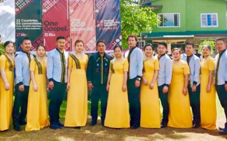 Nagaland Choir Olympics grand finale on October 23