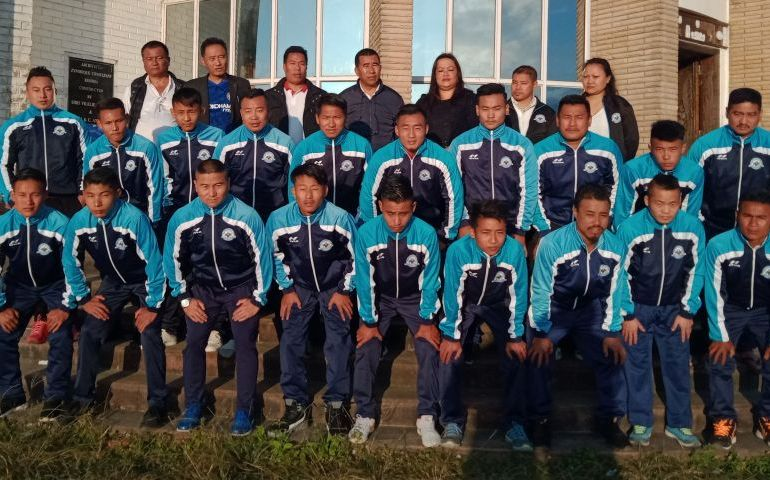 Nagaland team leaves for All India traditional wrestling championship