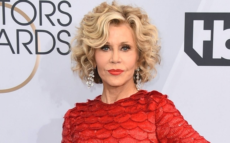 Jane Fonda arrested during climate change protest