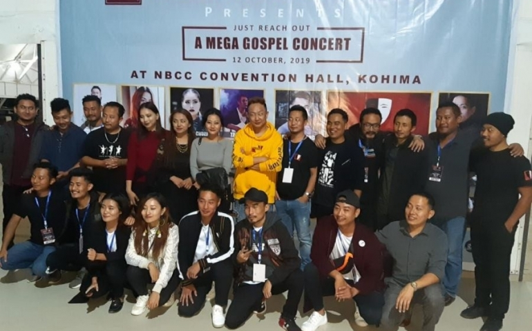 UFP hosts Mega Gospel Concert in Kohima